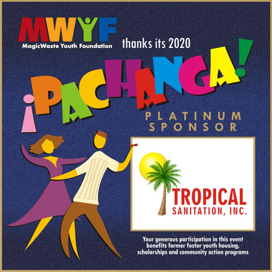 MWYF PACHANGA sponsor acknowledgement - GOLD - TROPICAL SANITATION